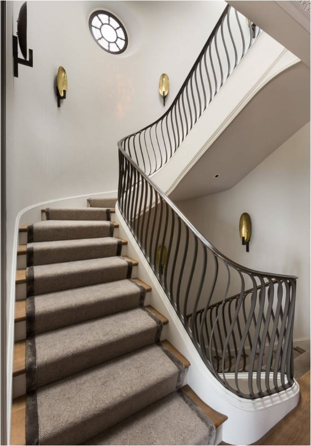 Stunning Stair Railings Centsational Style   Railings Stairs Inside House   Wood   Cable Railing Systems   Deck Railing   Glass Railing Ideas   Banister