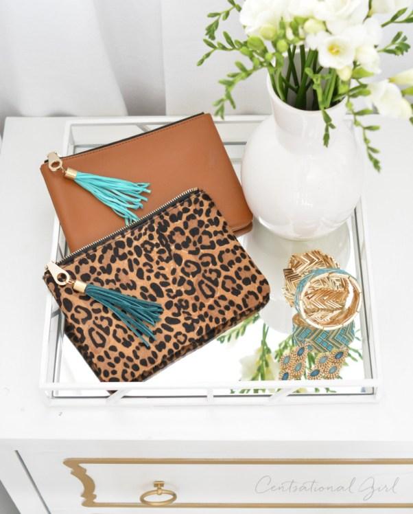 diy leather purse tassels