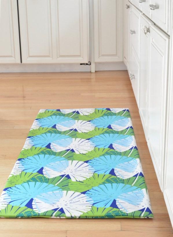 fabric floor mat