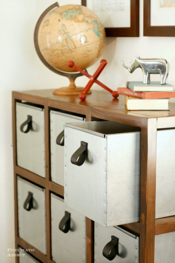 diy industrial storage unit