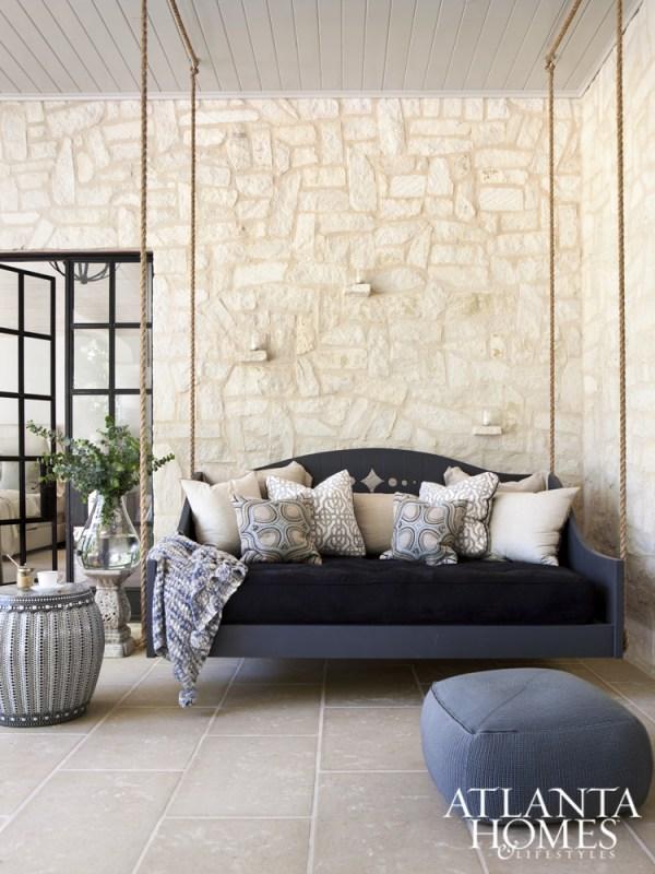 elegant rope swing bed