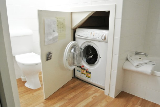 hotel with washer dryer