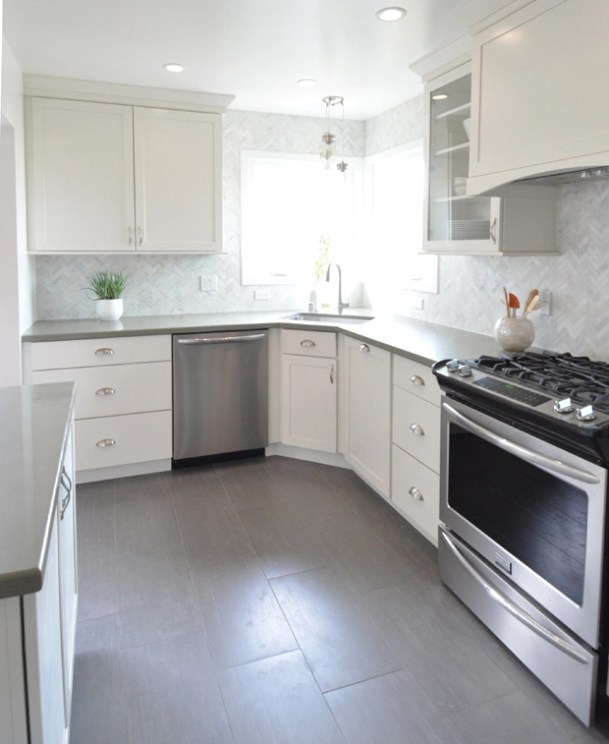 White Kitchen Remodels Before And After: My Brother's Kitchen Remodel