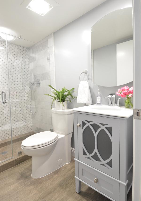 Basement bathroom addition centsational girl - Cost to install basement bathroom ...