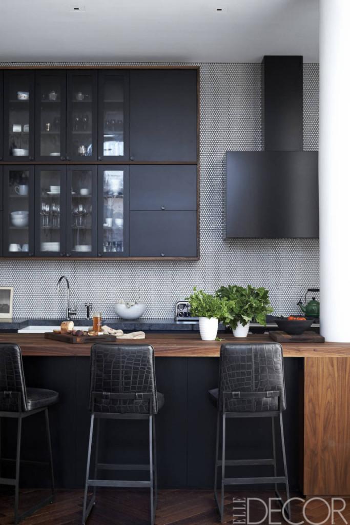 black kitchen croc stools