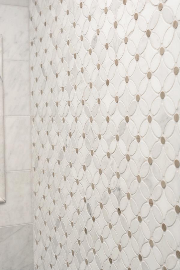floral geometric mosaic