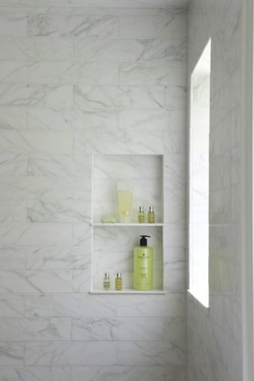 shower wall niche