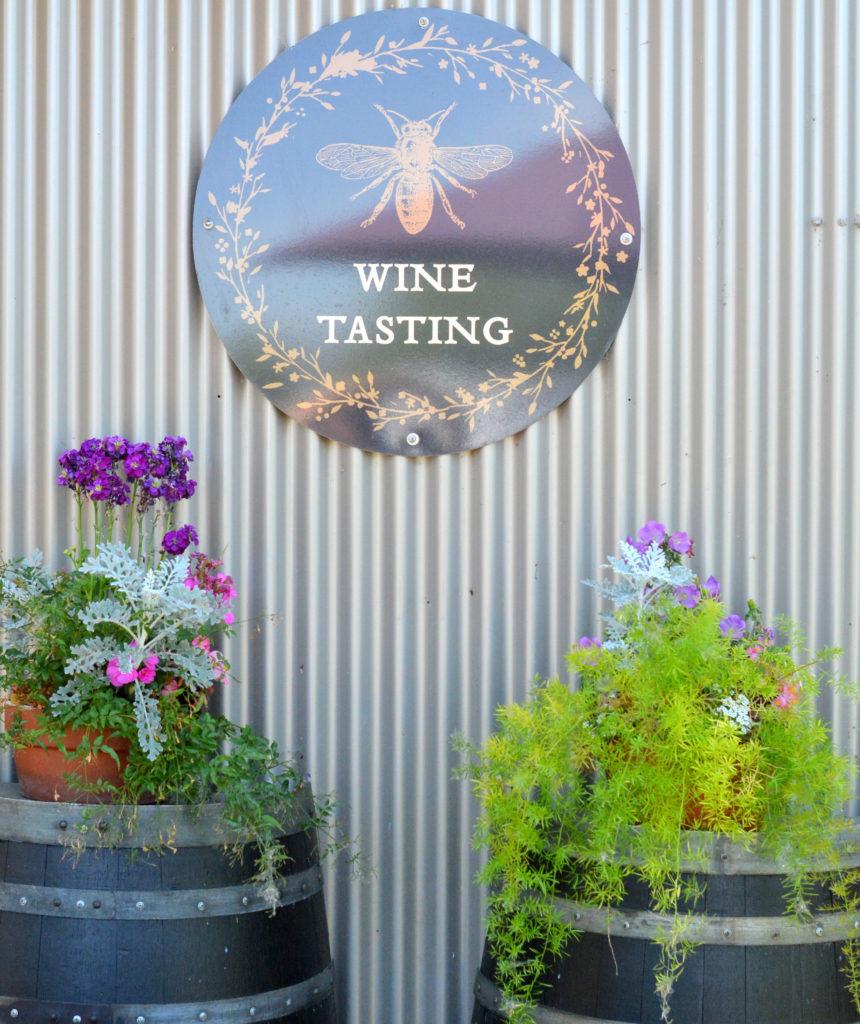 wine tasting planters