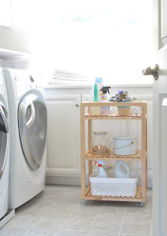 ikea cart laundry room
