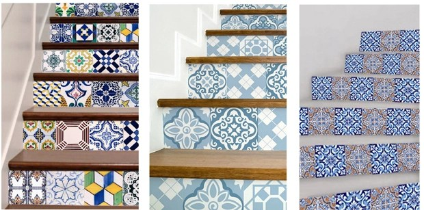tile staircase decals