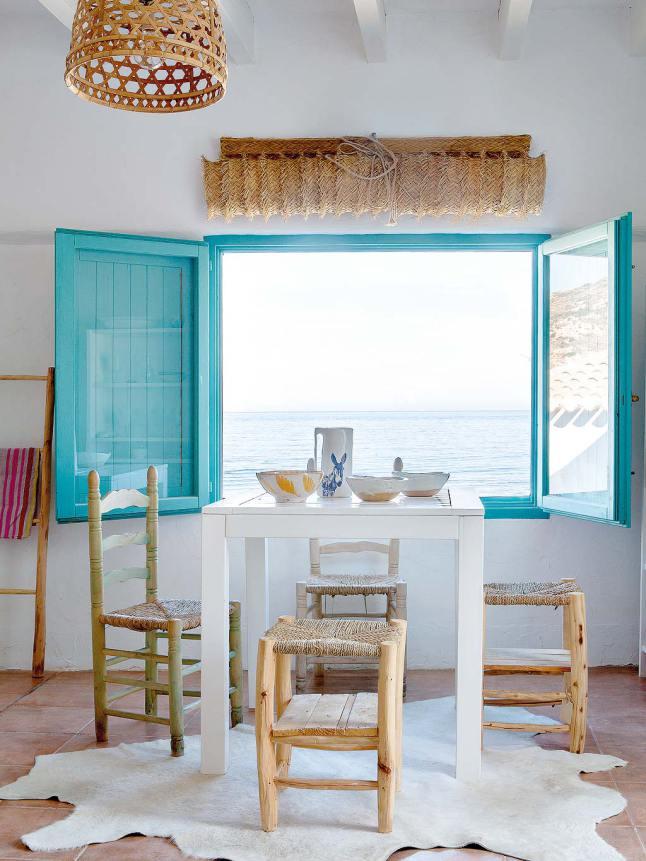 blue windows ocean view