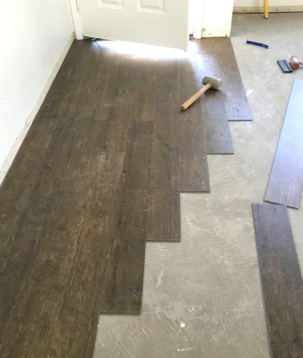 Vinyl Plank Flooring Prep Amp Installation Centsational Style