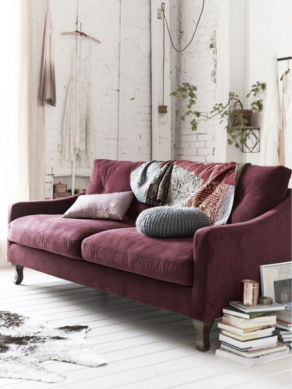 wine-velvet-sofa
