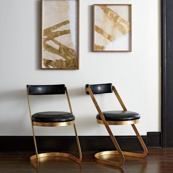 Trending Metallic Base Seating Centsational Style