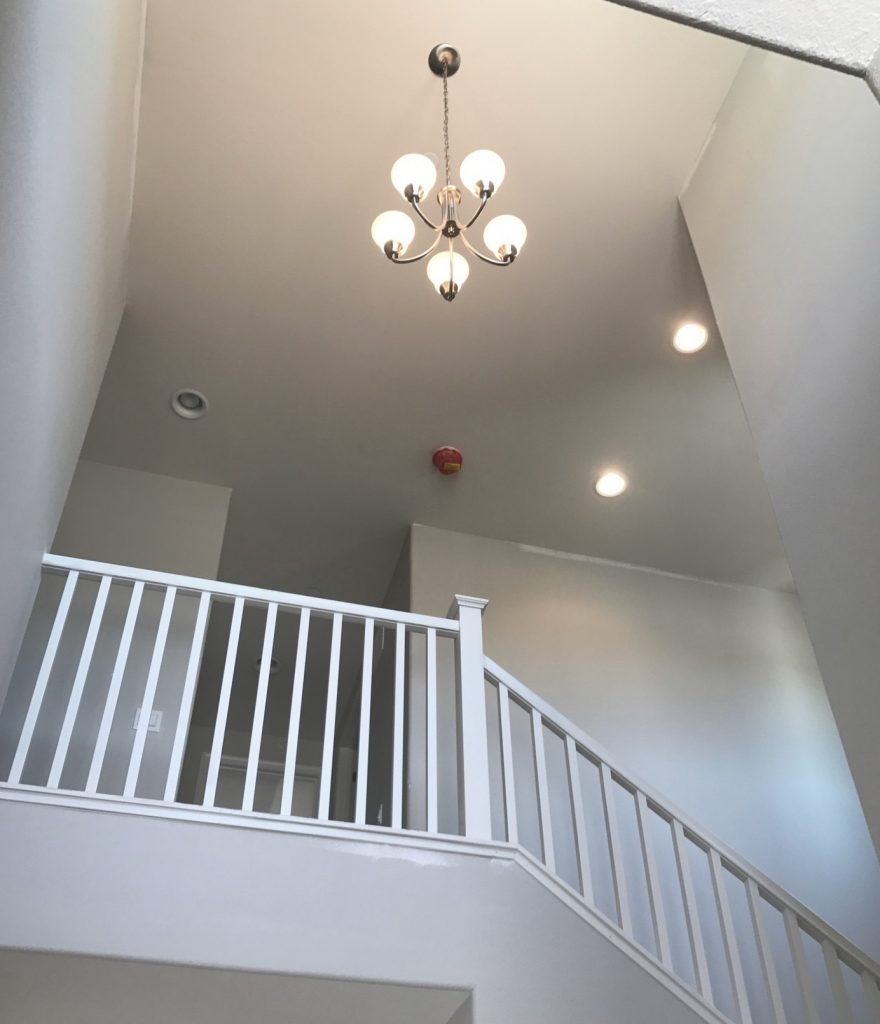 Foyer Chandeliers For Two Story Homes Centsational Style | Two Story Staircase Designs | Entryway | Stunning | Glass | Two Storey House | 2 Story
