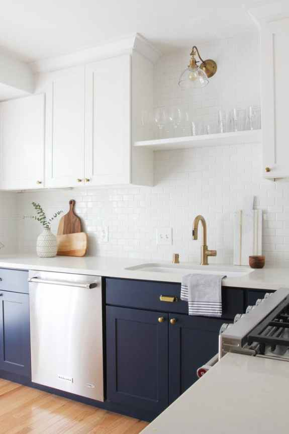 Hooray For The White And Blue Kitchen Centsational Girl