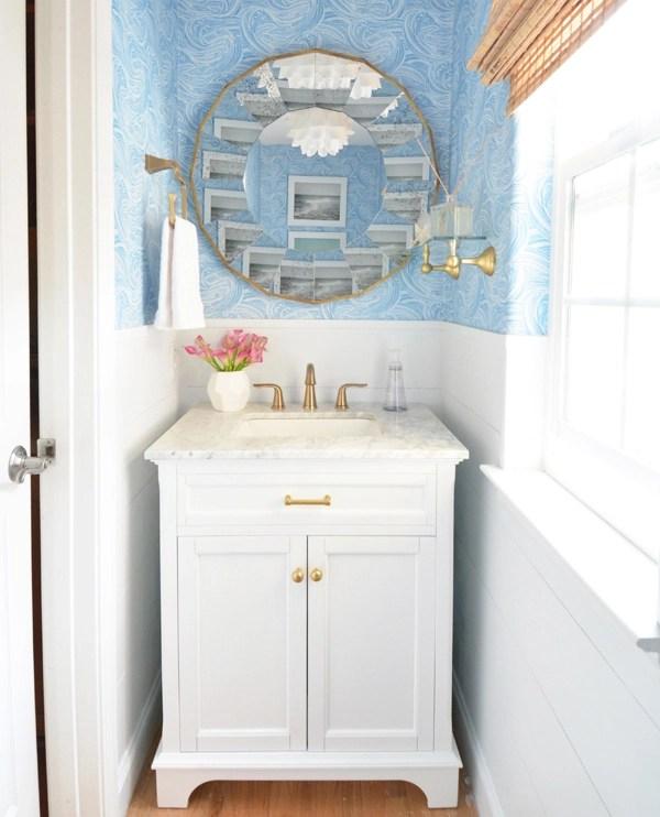 Powder Room Refresh | Centsational Style