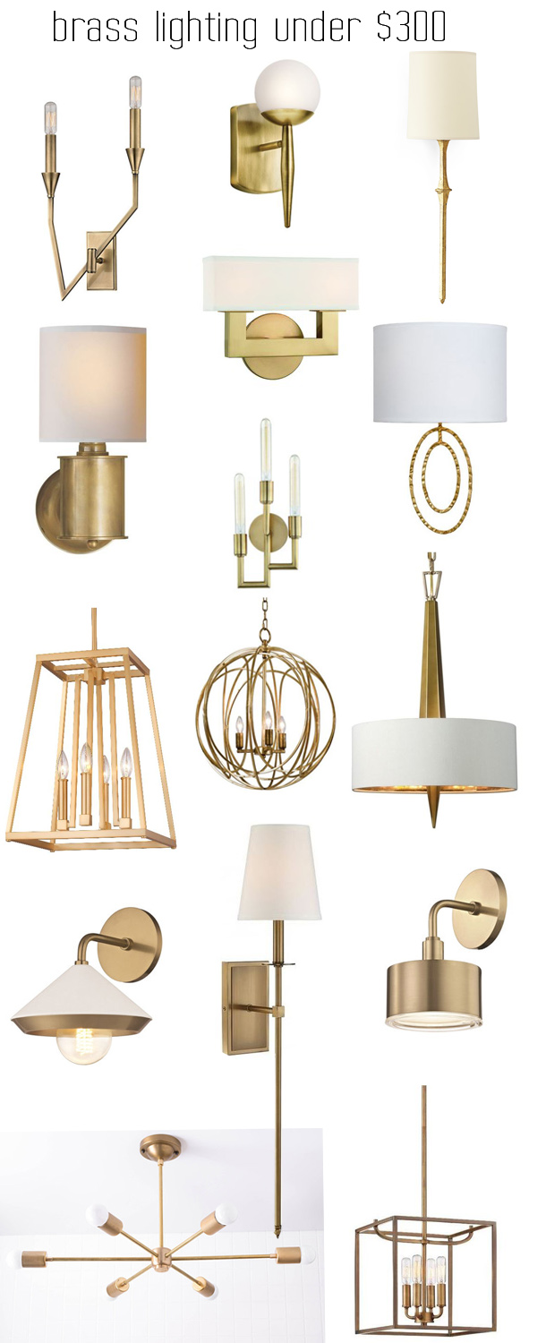 budget friendly brass lighting centsational style