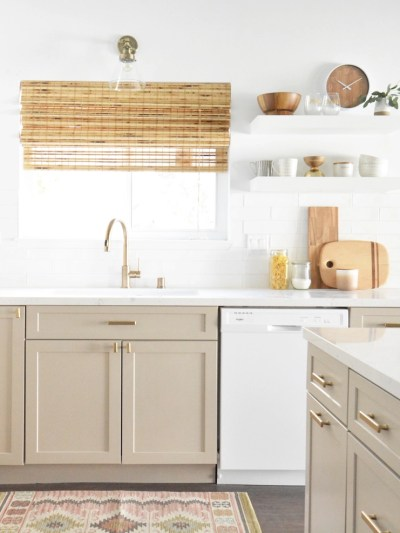 Ueven Soffit Above Kitchen Cabinets on