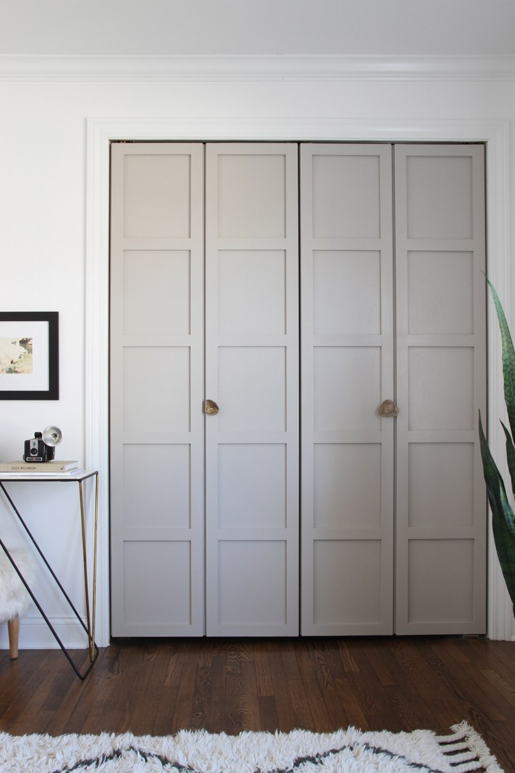 ... I Rounded Up Some Attractive Bi Fold Doors From Around The Web, Many Of  These Are Projects Where DIYers Pulled Off A Custom Look With A Plain Bi  Fold ...