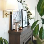 Plug In Sconces My Electric Fireplace Centsational Style