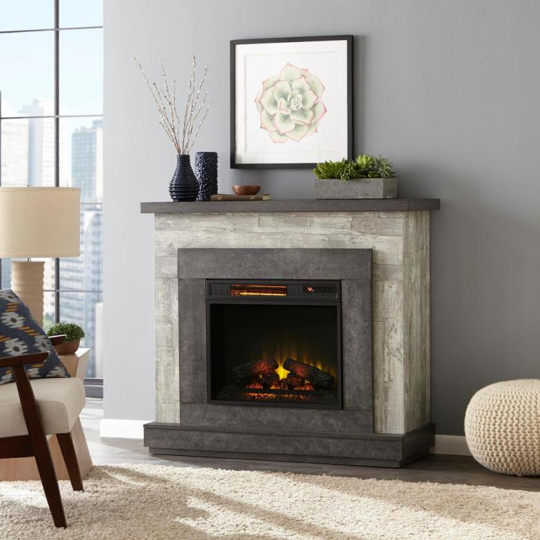 Contemporary Electric Fireplace Options Centsational Style
