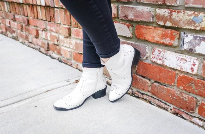 White Boots Under $50