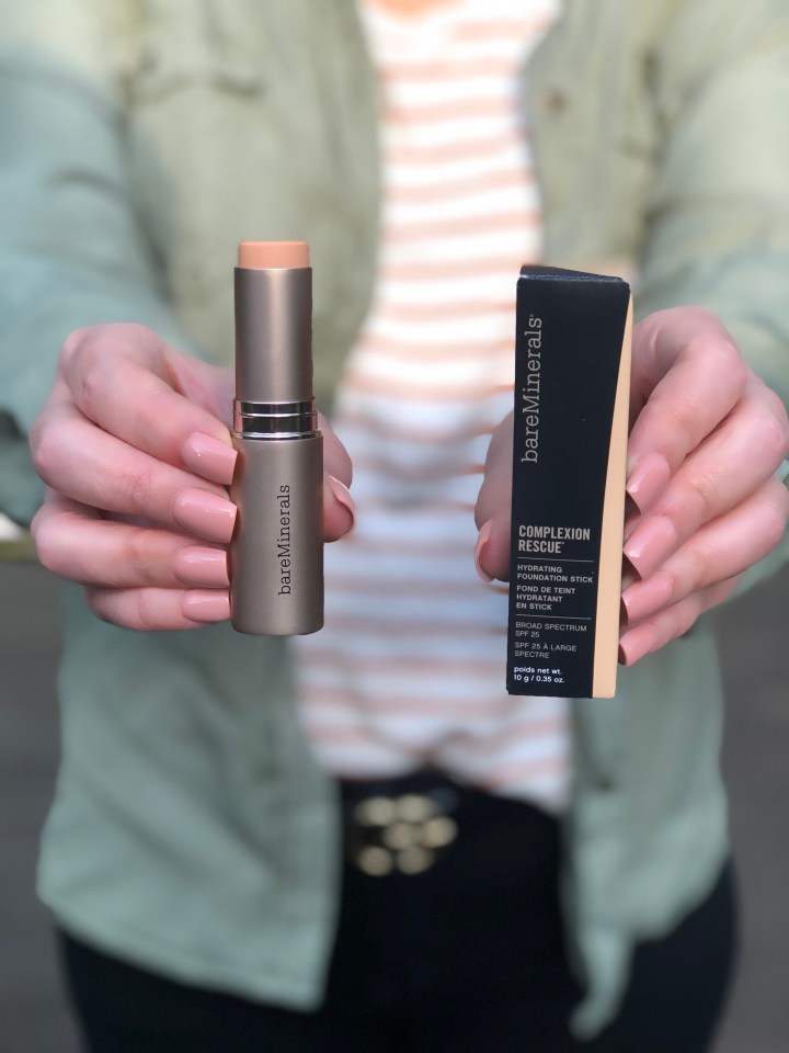 Beauty Product Review – Bare Minerals Complexion Rescue Foundation Stick