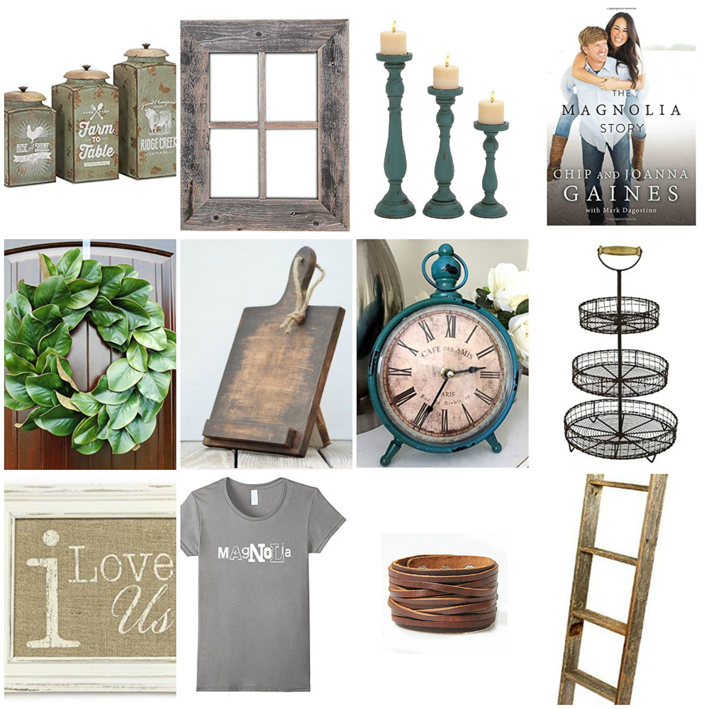 Holiday Gift Guide for Fixer Upper Fans centsiblechateau.com