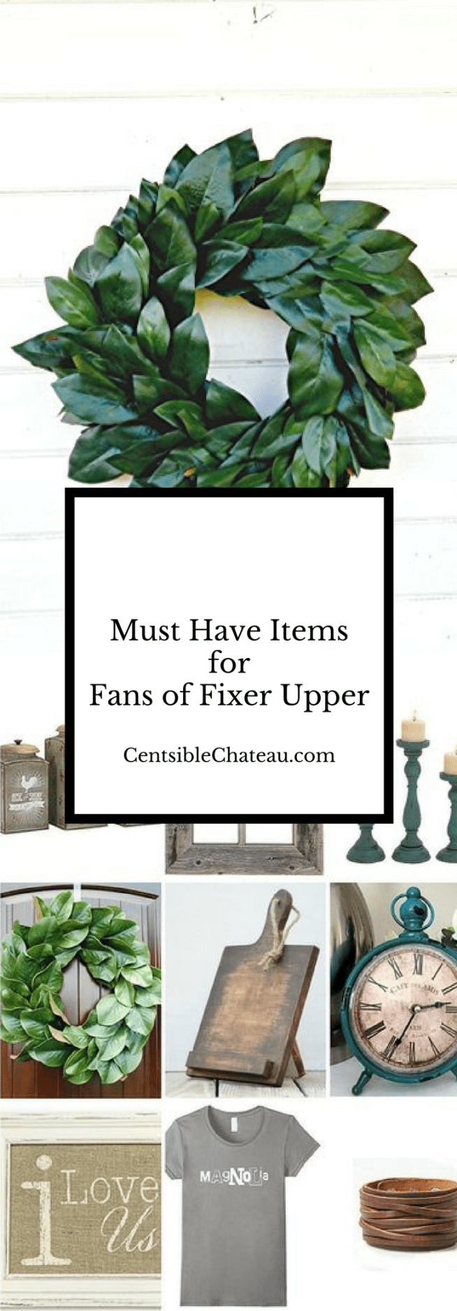 Must Have Items for Fans of Fixer Upper on HGTV
