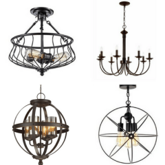 Fixer Upper Inspired Farmhouse Lighting