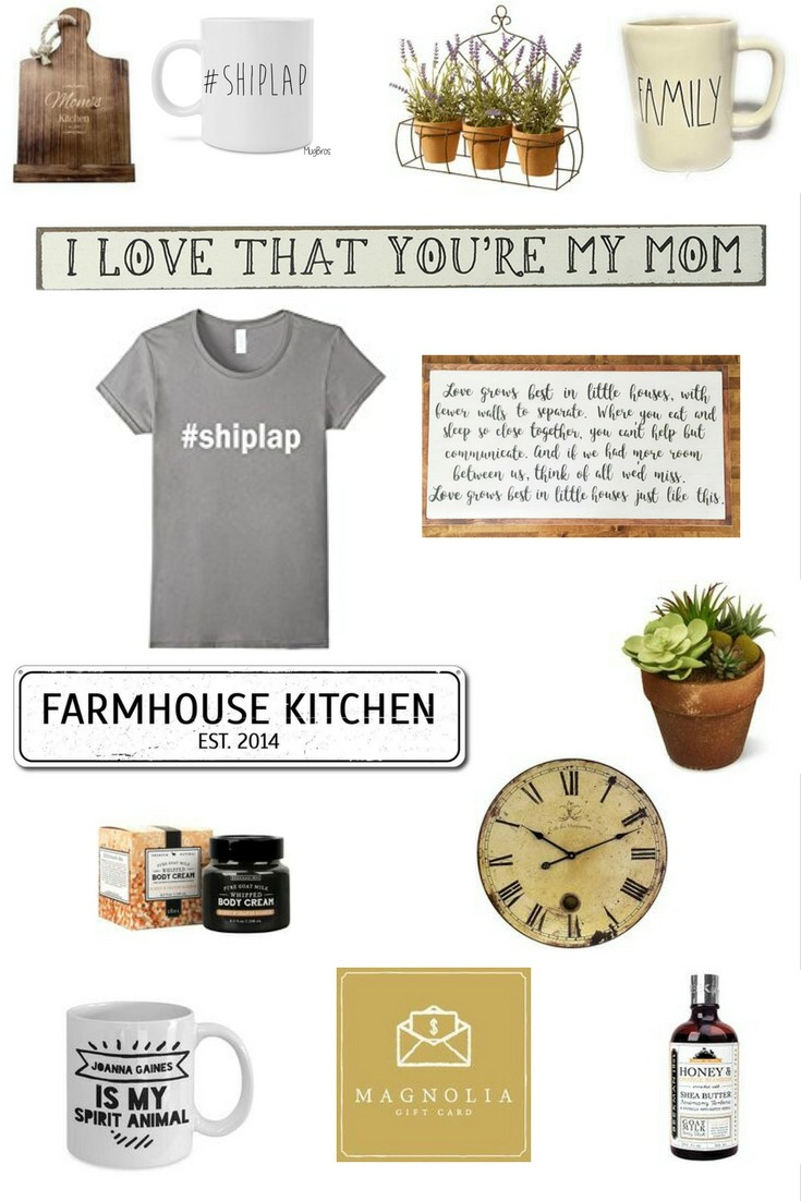 Mothers Day Gifts for Fixer Upper Fans