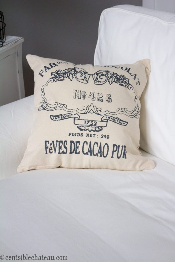French Farmhouse Style Pillow | Centsible Chateau