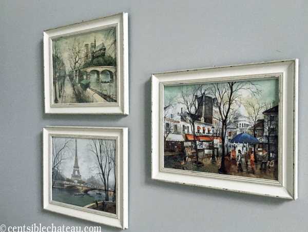 Paris Prints, One Room Challenge | Centsible Chateau