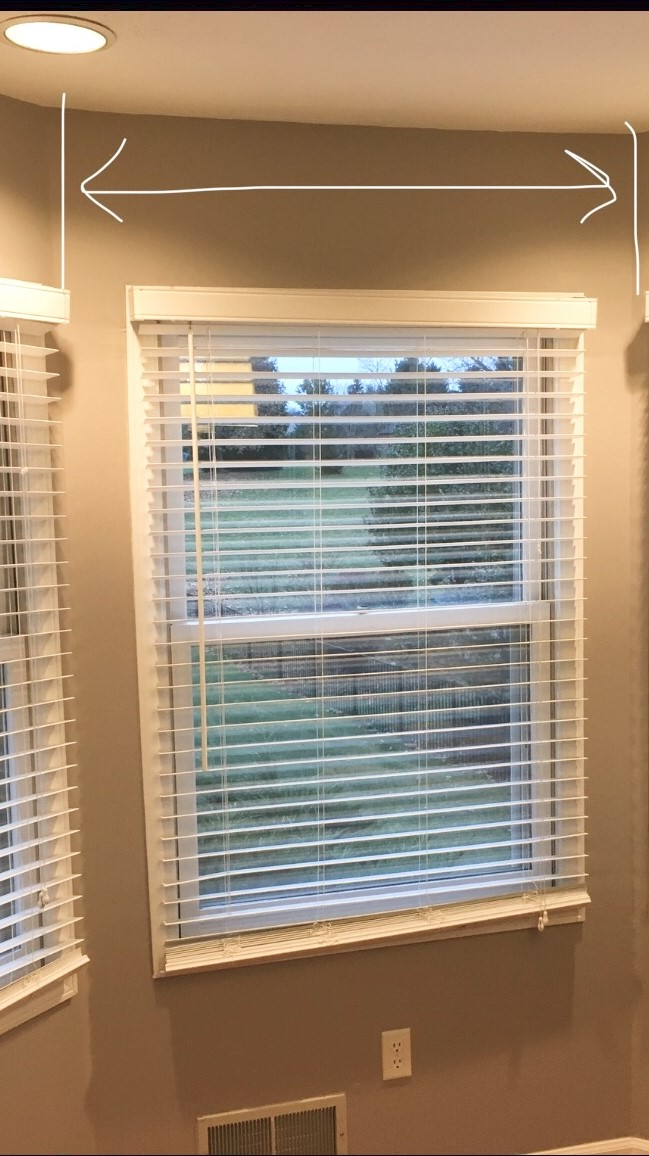How To Make A Simple Gorgeous Bay Window Curtain Rod
