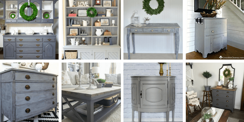 25 Beautiful Gray Painted Furniture Pieces That Will Inspire