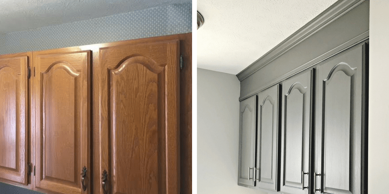 How To Extend Your Cabinets To The Ceiling In Under An