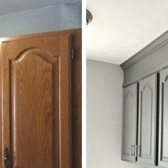How To Extend Your Cabinets To The Ceiling In Under An Hour For $20 Or Less