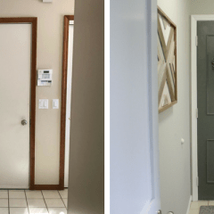 The Easiest Way to Update a Boring, Flat Door
