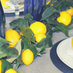 DIY Lemon Garland for Under $25