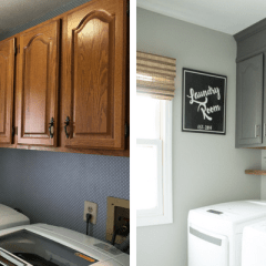 Small Budget Laundry Room Makeover