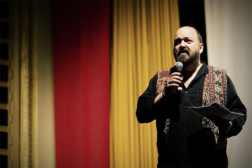 Dave McKean introducing his film MirrorMask