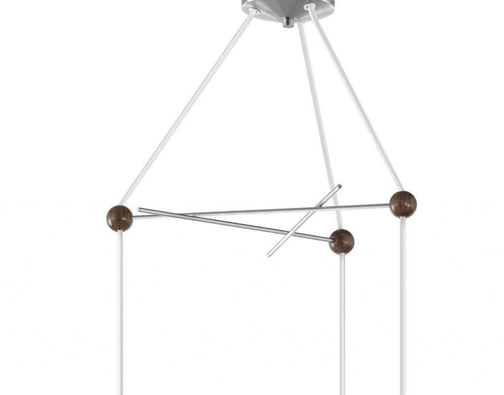 Hermanmiller Nelson Triple Bubble Lamp Fixture