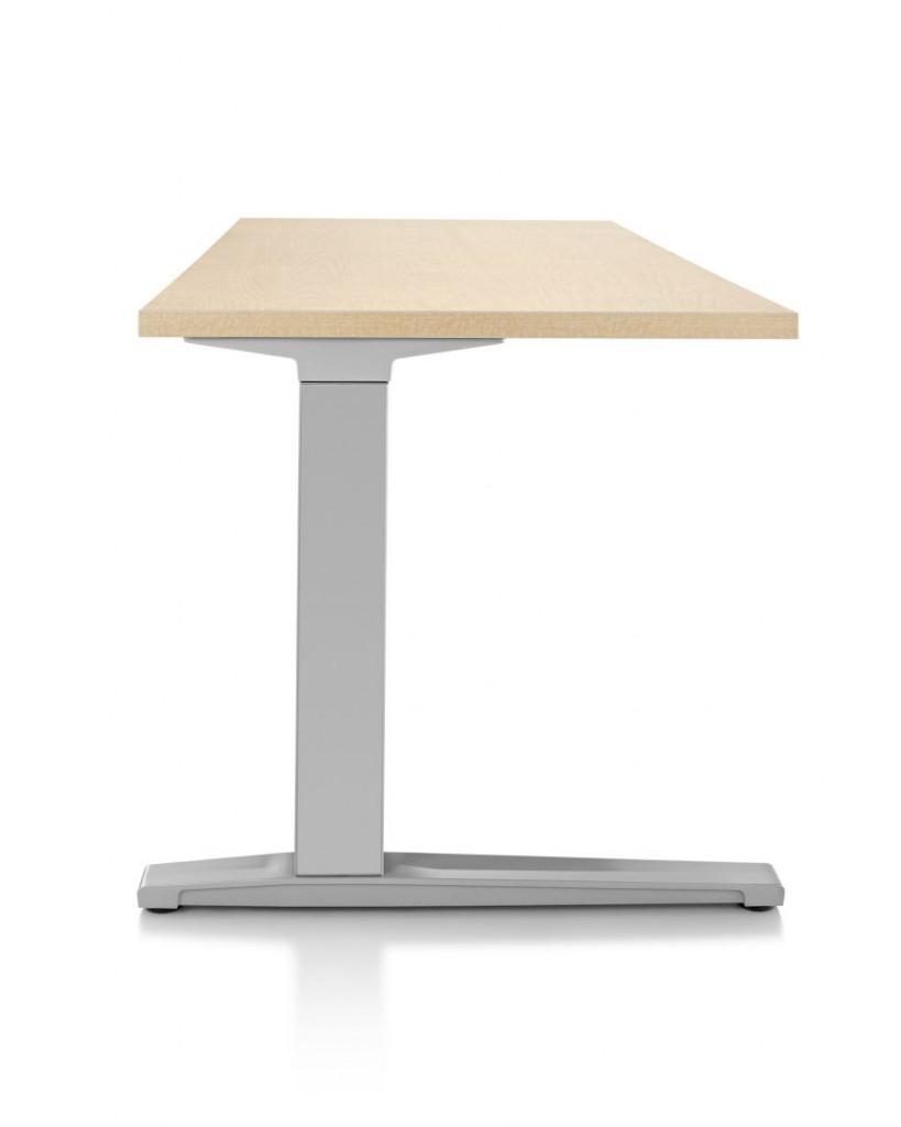 HermanMiller Renew Rectangular Sit Stand Desk Wood The