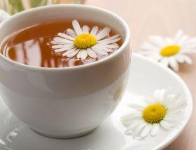 Tisane à la Camomille, infusion dans une tasse