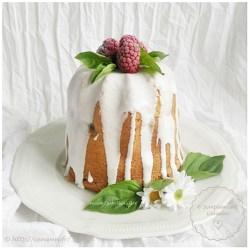 Naked cake aux framboises et au vin blanc