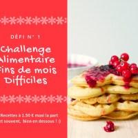 #FDMD ~ les recettes du Défi #1