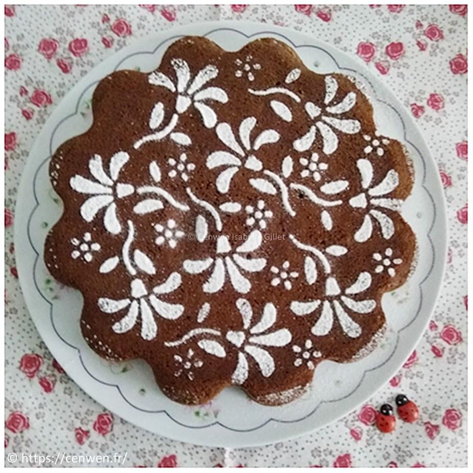 Gâteau au chocolat ~Recette de Philippe Conticini, recette simple, rapide, facile, gourmande et économique. Gâteau au chocolat noir et au chocolat au lait.