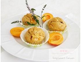 Muffins légers aux abricots