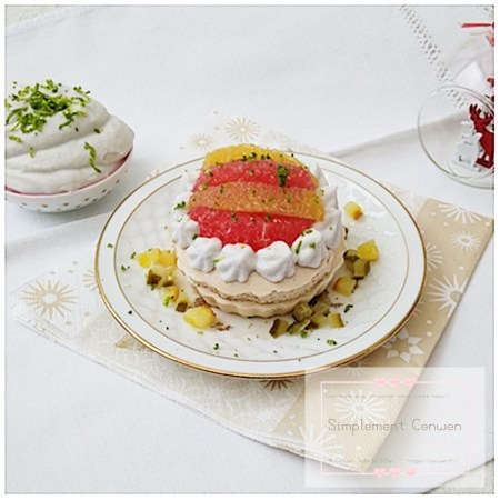 Menus et recettes de fêtes petit budget ~ Challenge Alimentaire #FDMD. Des menus à 20 € et 30 € pour 6 personnes et des recettes à moins de 1.50 € la part !